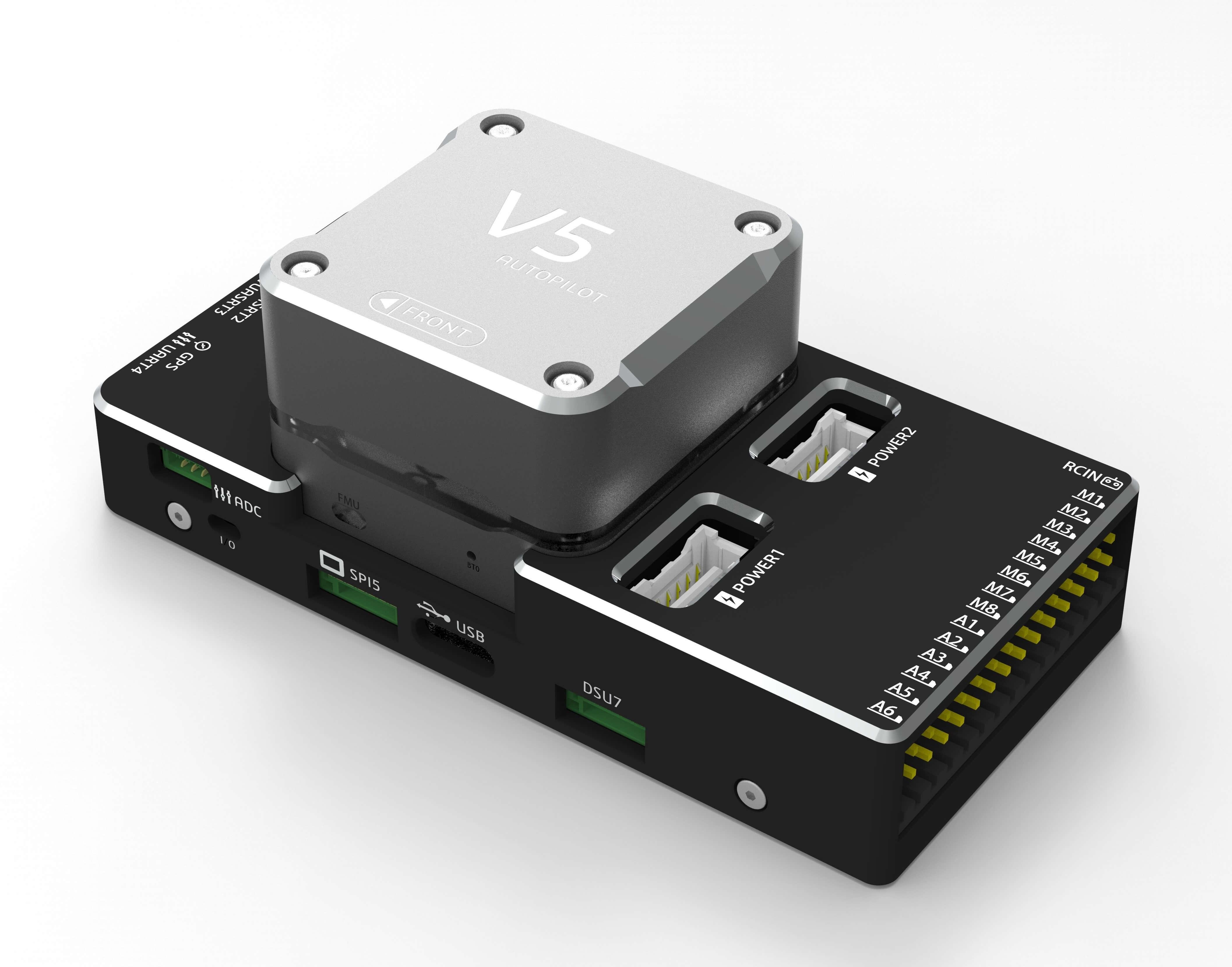 V5 series autopilot · pixhack-v5